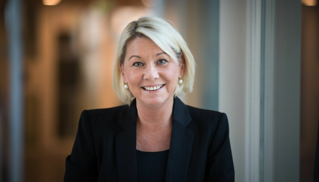 Justis- og beredskapsminister Monica Mæland.