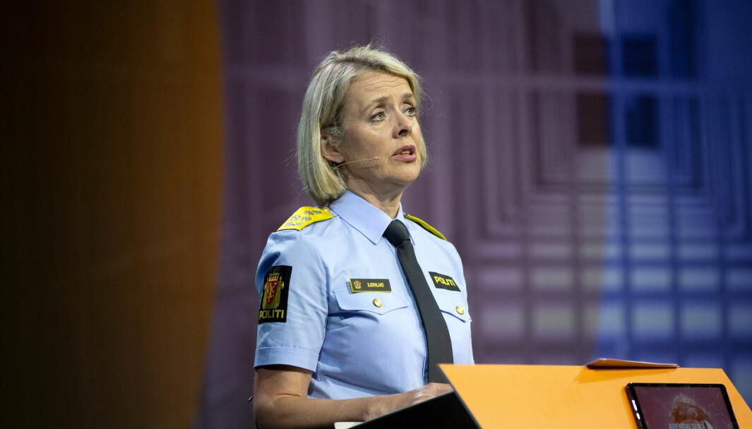 Politidirektør Benedicte Bjørnland.