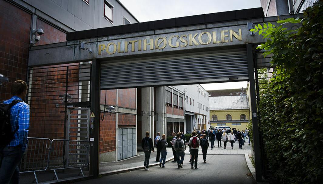 Studentene ved Politihøgskolen i Oslo har hatt mer hjemmeundervisning enn studenter ved andre studiesteder, på grunn av økt smitte i Oslo.