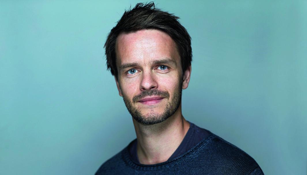 Redaktør Erik Inderhaug.