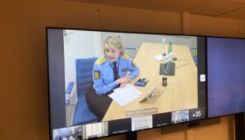 Politidirektør Benedicte Bjørnland annonserer hvem som er kåret til årets leder i politiet 2020.