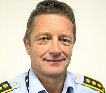Per Øyvind Haugen, politiinspektør ved Beredskapsavdelingen i Politidirektoratet.