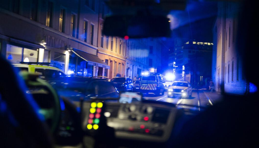 En mann er i Frostating lagmannsrett dømt for forsøk på grov kroppsskade mot fire av seks politifolk som var involvert i en biljakt på Skåla i Molde i 2018. Bildet er et illustrasjonsfoto.