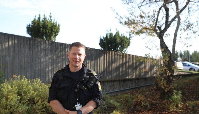 Martin Lindhjem Kristiansen, leder for IP3- og instruktøravsnittet og UEH-leder i Øst politidistrikt, GDE Romerike.