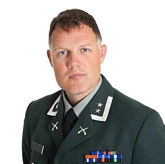 Oberstløyntnant Vegard Flom, ved Hærstaben på Terningmoen.