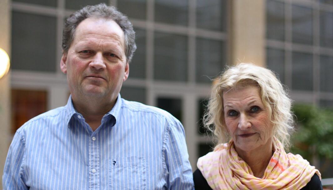 TYST: Hverken Dag Ellingsen eller Ulla-Britt Lilleaas vil svare på når «knulletorsdag» foregikk eller hvorfor de ikke fortalte POD-sjefen at det var avsluttet.