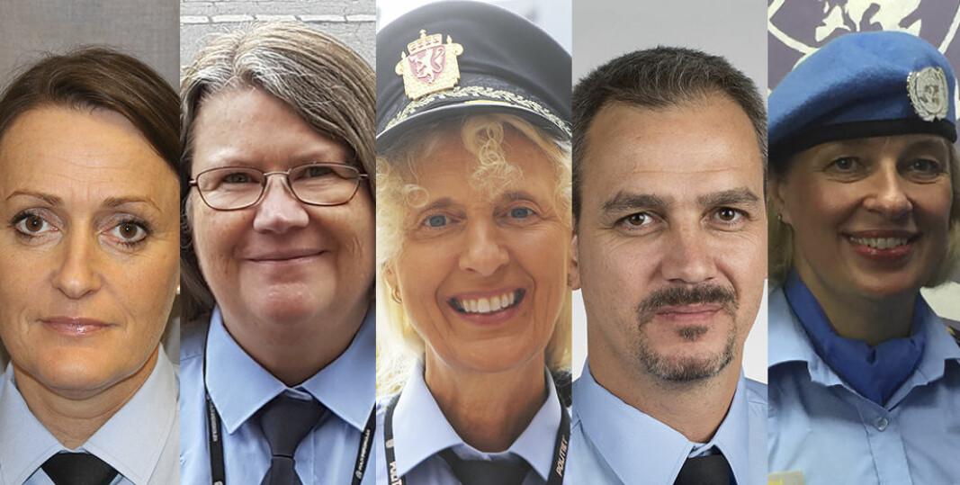 Inger-Lise Brøste, Tanja Randby Garthus, Kim Anne-Marie Hiorth, Bjørn-Erik Ludvigsen og Mari-Ann Randulf er de fem finalistene til Politiforums Ærespris 2020.