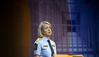 Politidirektør Benedicte Bjørnland forteller at forskerne aldri sa at «knulletorsdag» var avskaffet, før hun gikk ut i media i oktober.