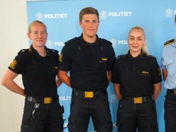 PRAKSISTRIO: Fra venstre, Sunneiv Syversrud, Joakim Johansen og Hanne Brustad.