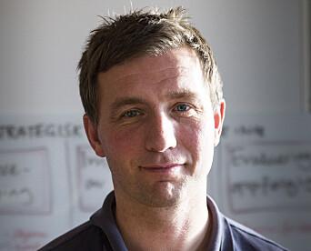 Ronny Andre Øvrebotten, seksjonsleder for UEH fagledelse og operativ trening.