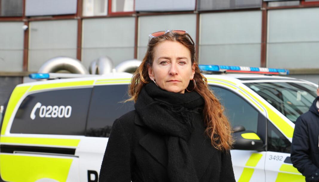 Kristin Aga, leder av Oslo politiforening, frykter at flere politifolk vil oppleve å bli urettmessig hengt ut ved å bli filmet mens det utfører lovlige tjenestehandlinger.