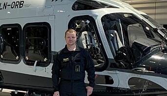 Sammen med makkeren var Steve Gulbrandsen, politioverbetjent og pilot i politiets helikoptertjeneste, det første helikoptercrewet som kom frem til rasområdet.