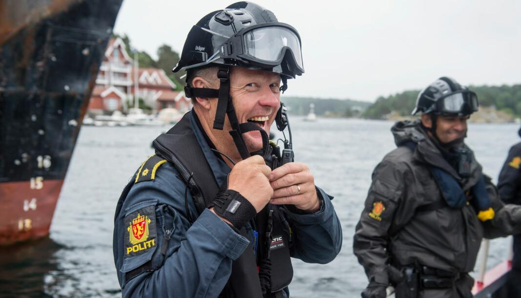 Politiet kan glede seg over økt tillit. Bildet er et illustrasjonsfoto tatt i en annen anledning.