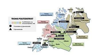 BESTÅR: Politimesteren i Troms har besluttet å beholde denne strukturen.