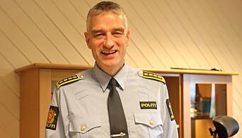 FORNØYD: - Jeg er glad for at vi har en politimester som har lyttet til de mange tilbakemeldinger som har kommet de siste dagene, både eksternt og internt, sier regionslensmann Andreas Nilsen i Midt-Troms lensmannsdistrikt.