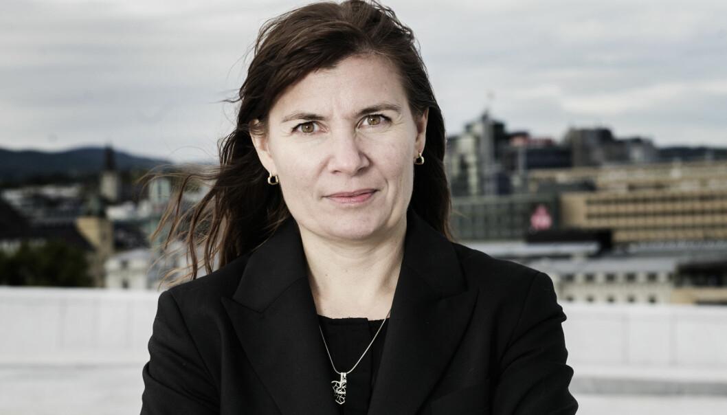 Elen Katrine Hætta, politimester i Finnmark.