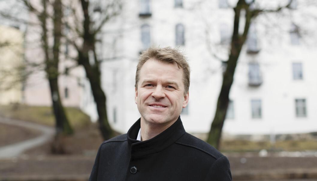 Sigve Bolstad, leder av Politiets Fellesforbund.
