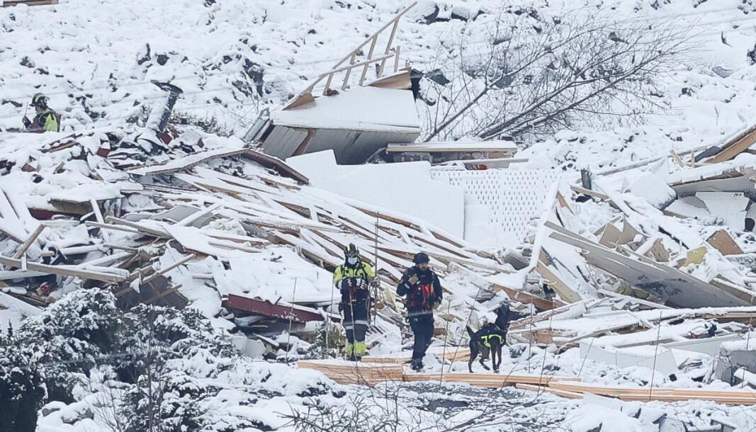 Ti personer omkom i leirskredet i Gjerdrum, hvor flere boliger raste ut.