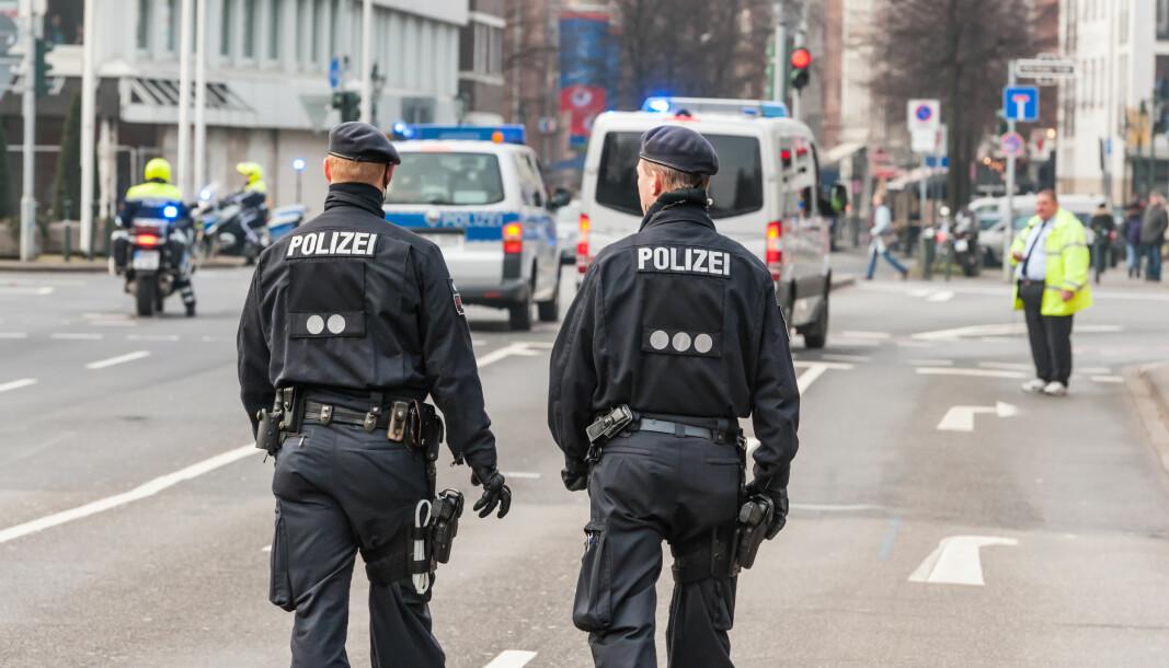 To tyske politibetjenter.