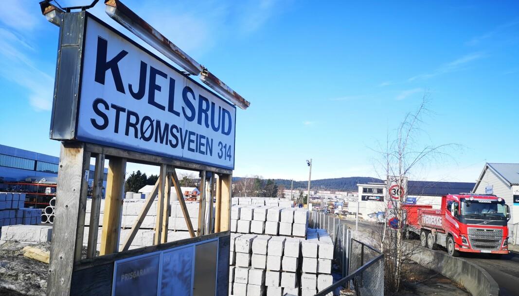 I dette industriområdet på Alna, i Strømsveien 314, kommer den nye politistasjonen i Oslo-politiets Enhet øst.