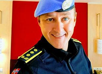 FARLIG OPPDRAG: Politiinspektør Gustav Landro har tilbrakt 1,5 år i Malis hovedstad med å lære bort kriminalteknikk.