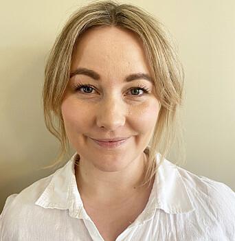 Sandra Pernille Magnussen, kommunikasjonssjef ved Politihøgskolen.