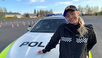 I TV-serien «Martine vil bli politi» får blogger Martine Lunde prøve seg som politi. Serien har premiere på TV2 Sumo.