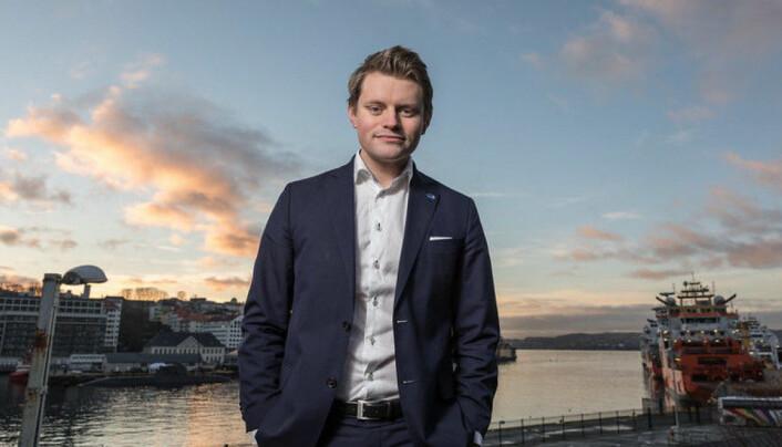Peter Frølich, justispolitisk talsperson i Høyre.