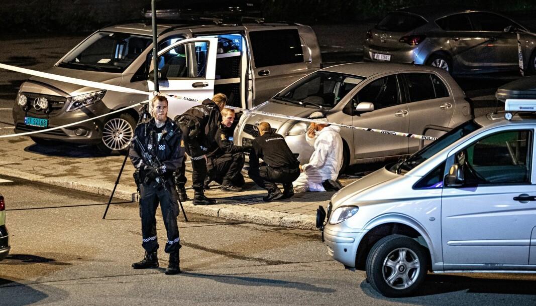 KNIVDREPT: En psykisk syk mann drepte Marianne Haugan mens hun satt og ventet i bilen sin i Sarpsborg i fjor. Ti minutter senere hadde han også forsøkt å drepe to andre kvinner med kniv.