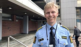 Helge Stave, leder for Felles enhet for etterretning og etterforskning i Vest politidistrikt.
