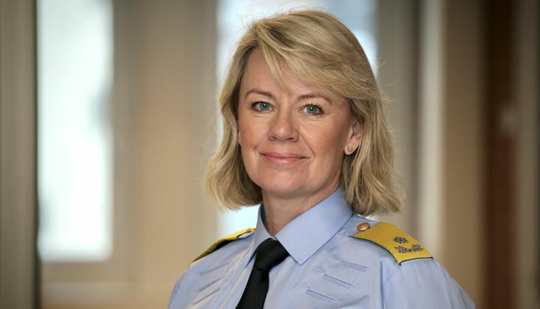 Politimester Ida Melbo Øystese i Øst politidistrikt.