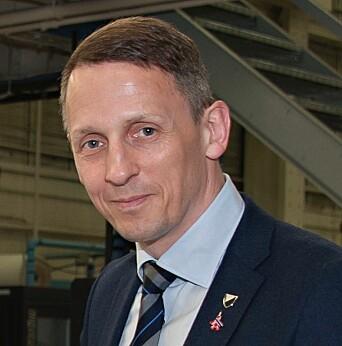 Tom Myrvold, ordfører i Ørland kommune.