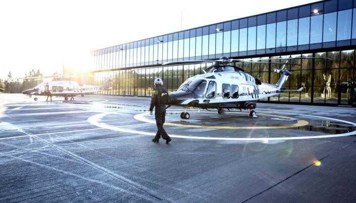 Helikoptertjenesten holder til på Beredskapssenteret.