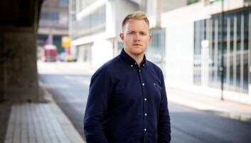 Simon Frammarsvik Solheim – journalist og forfattar av boka «Livvakt: på innsida av PST».