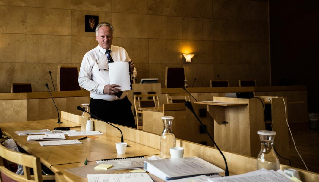 Advokat Sigurd J. Klomsæt.