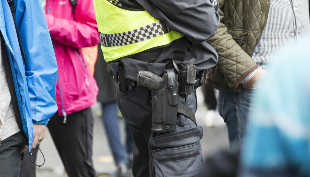 Sigve Bolstad, leder i Politiets Fellesforbund mener det ikke har vært noe våpenkappløp fra kriminelle, til tross for at politiet har vært midlertidig bevæpnet over lang tid.