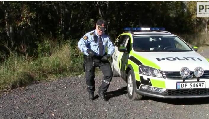– Videoen er et bidrag for å vise at politiet er mennesker og positivitet er viktig, sa Tonsjø i et intervju til Politiforum i 2016.