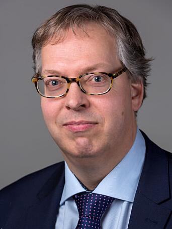 Statssekretær Thor Kleppen Sættem (H) i Justis- og beredskapsdepartementet.