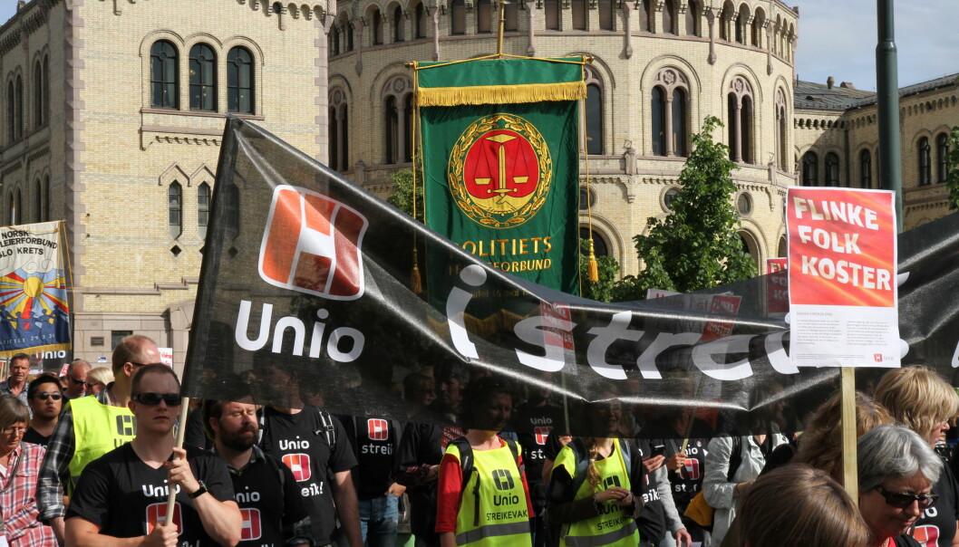 Hvis partene ikke kommer til enighet kan det bli streik fra 27. mai.