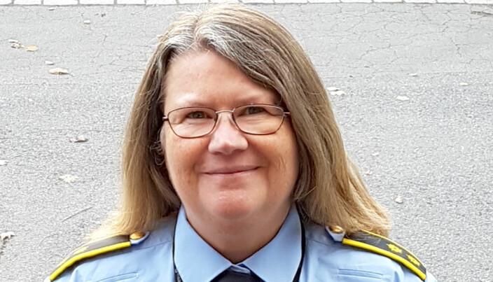 Tania Randby Garthus, politioverbetjent ved Politihøgskolen.