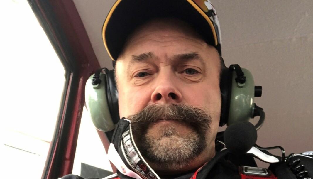 Bård Austad er til daglig leder for felles enhet for operative tjenester i Kristiansand. På fritiden driver han med bil, her fra Rally Monte Carlo historique i februar 2020, hvor han er kartleser i en Saab 93B.