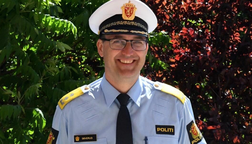Ole Bredrup Sæverud, fortsetter som politimester i Sør-Øst politidistrikt.
