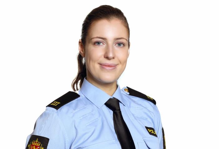 Lisa Figenschou var avgangsstudent ved Politihøgskolen i år.