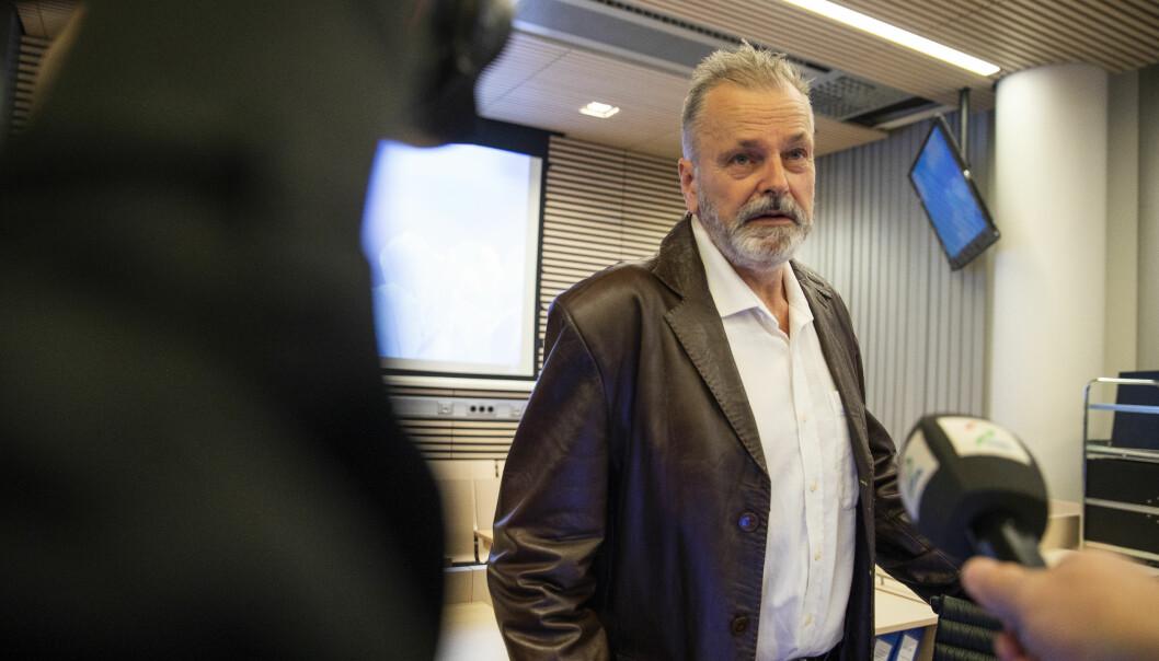 Eirik Jensen under rettssaken.