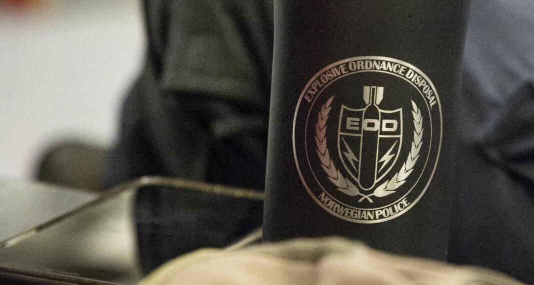 Bombegruppa er en av seksjonene i politiet som har egen logo. Disse får de ikke lenger lov til å bruke, har Politidirektoratet bestemt.