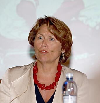 Grete Faremo tok over som justisminister tre og en halv måned etter 22. juli.