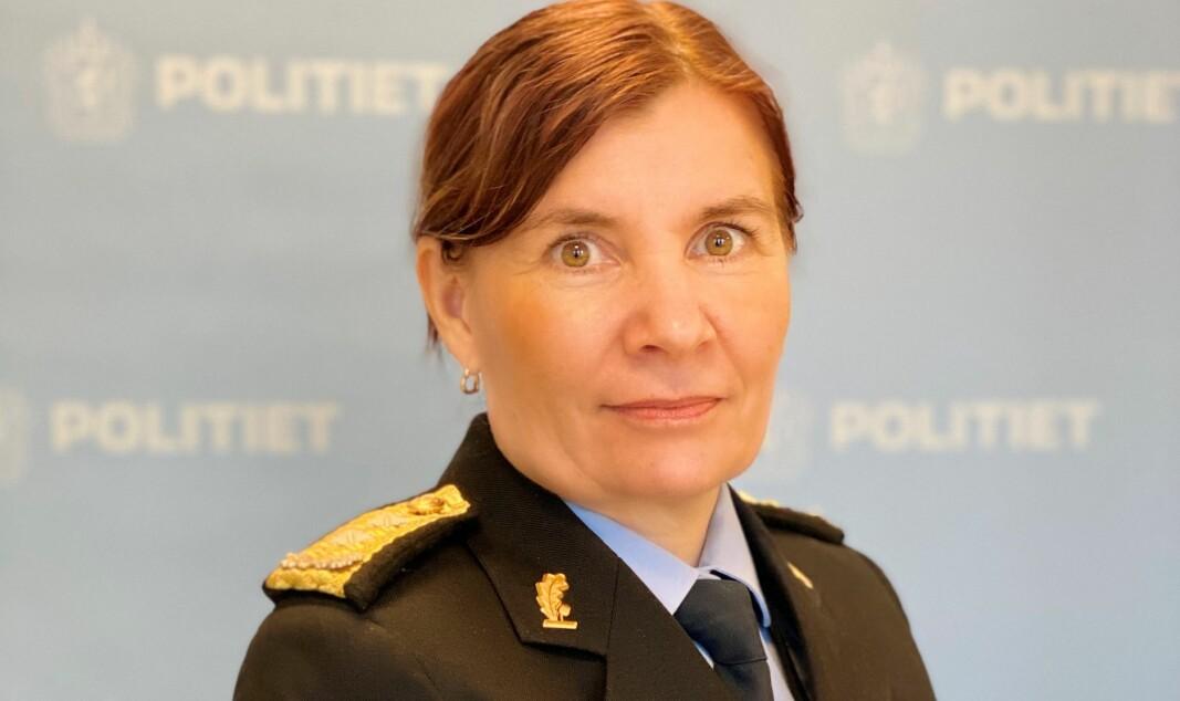 Ellen Kathrine Hætta, politimester i Finnmark.