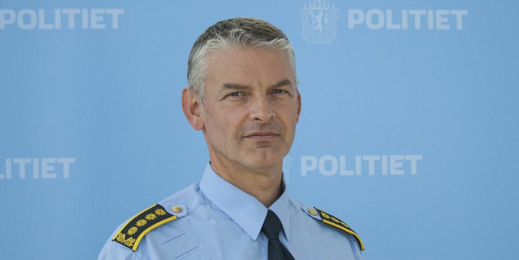 Visepolitimester Arne Hammer.