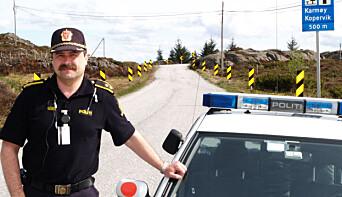 Tore Johan Mørch og makkeren var den første patruljen i nærheten av åstedet.