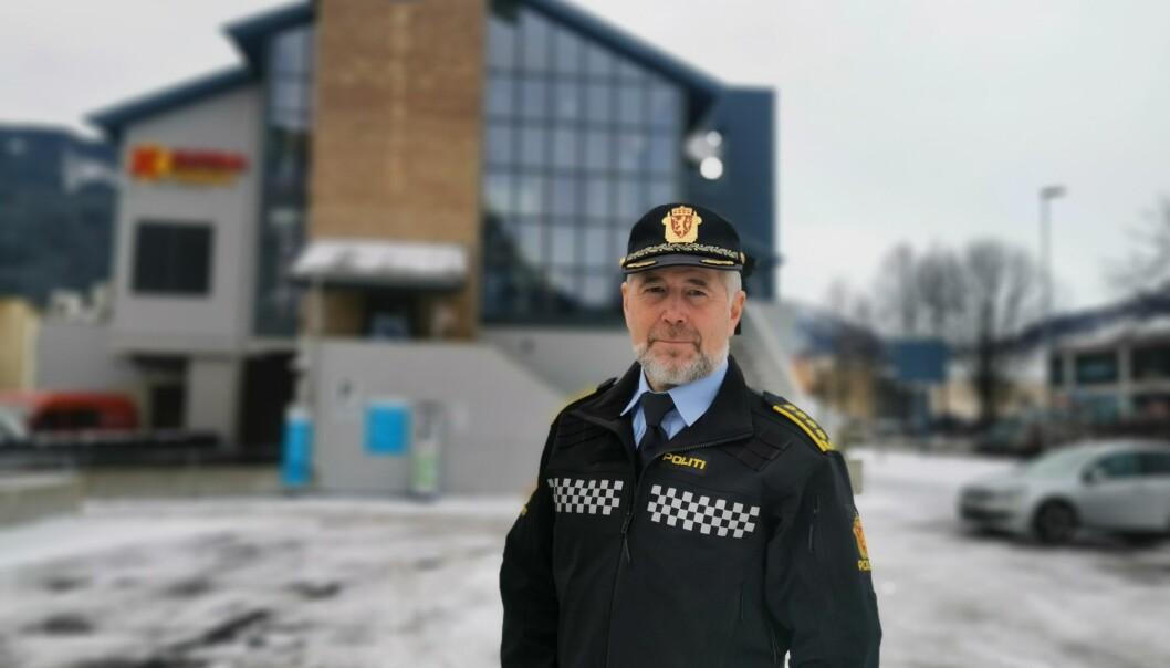 Arne Johannessen, GDE-leder i Sogn og Fjordane, Vest politidistrikt.